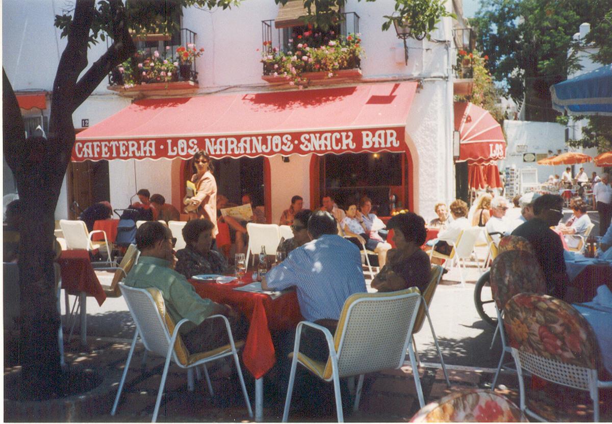 01 Cafeteria Los Naranjos