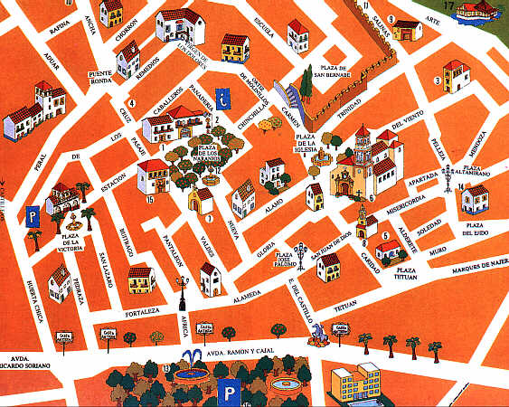 24 MAPA CASCO ANTIGUO