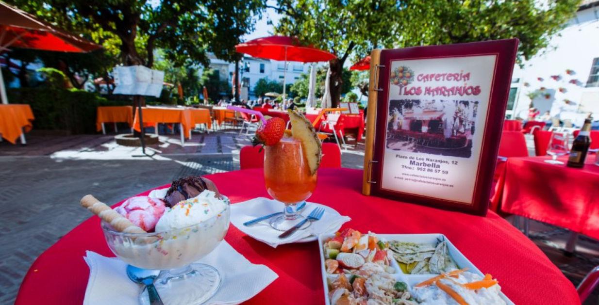 Cafeteria Los Naranjos 4